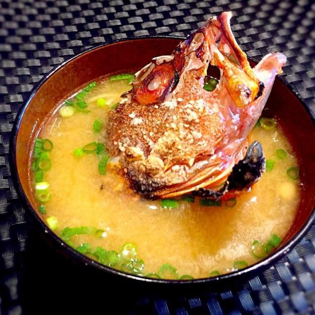 釣魚料理((´∀`)) - 15件のもぐもぐ - カサゴの味噌汁 by NoriF