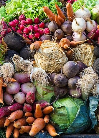Los Angeles Farmers Market Tour with a Culinary Expert, look at all the colors in these veggies! Root vegetables, photo, food: