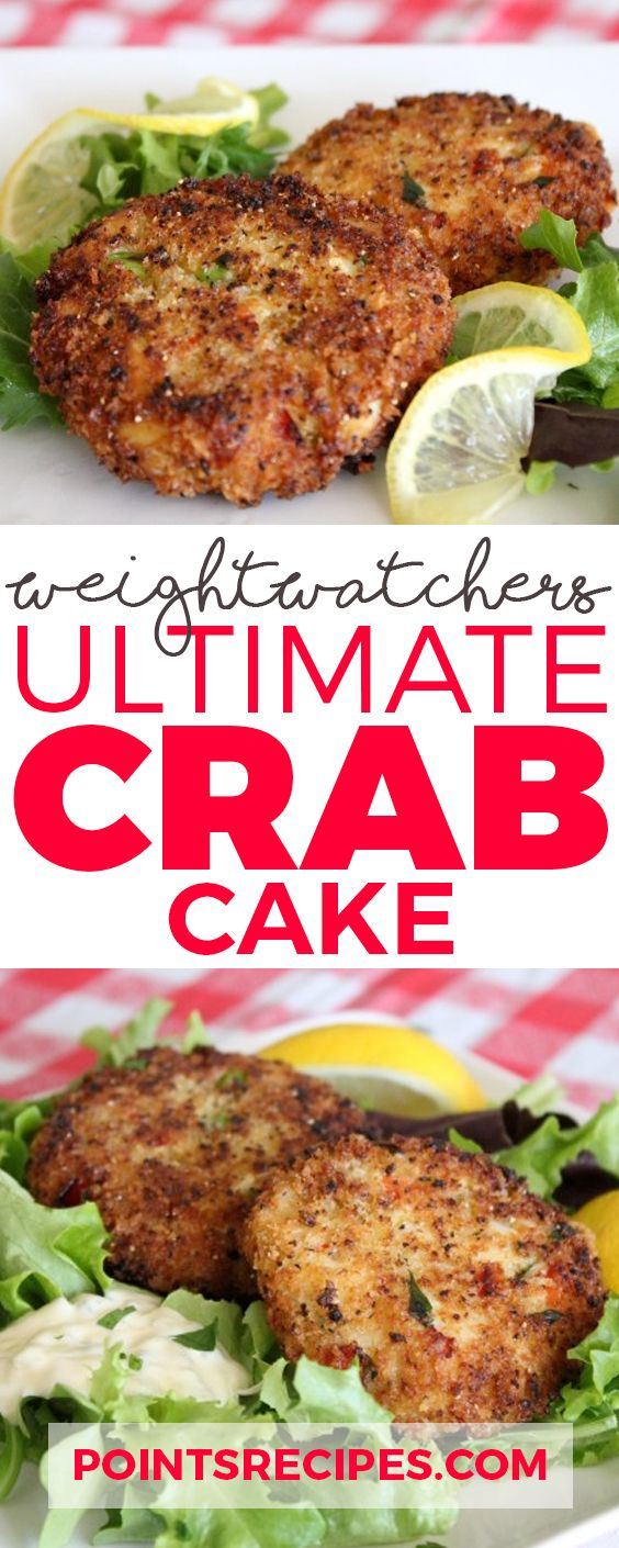 Ultimate Crab Cakes (Weight Watchers SmartPoints)