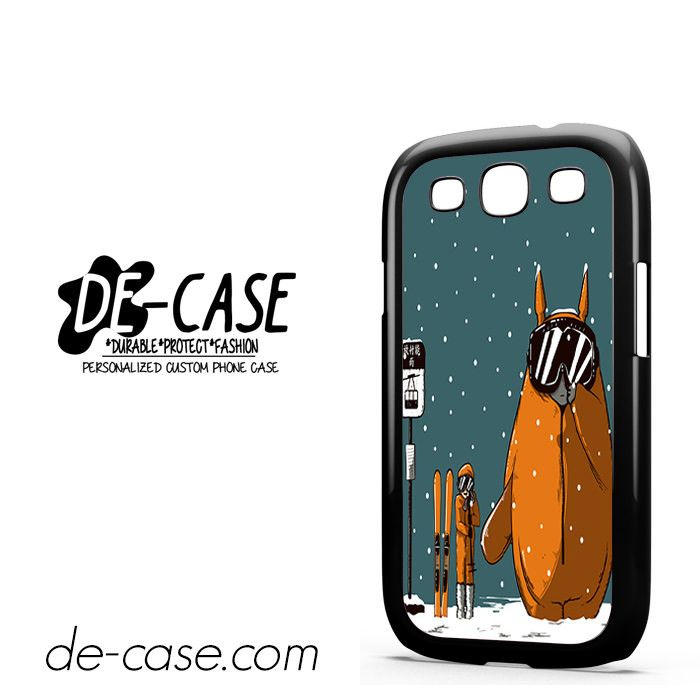 My Neighbor Totoro Wait Snow Want Sky DEAL-7553 Samsung Phonecase Cover For Samsung Galaxy S3 / S3 Mini