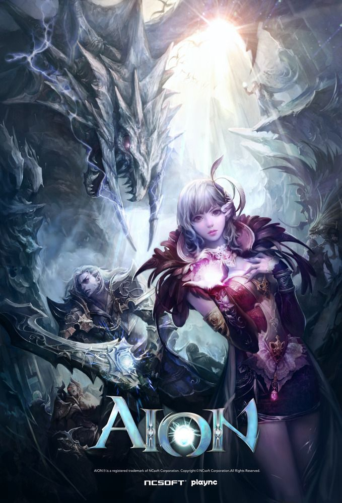 A concept art archive of NCSoft's fantasy MMORPG, Aion Online. Made  primarily cause the
