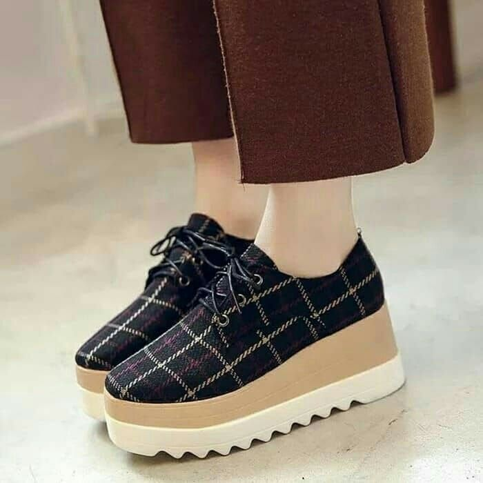 Sepatu Wanita Docmart Dl49 Hitam Ls Idr 1 6 0 0 0 0 Harga