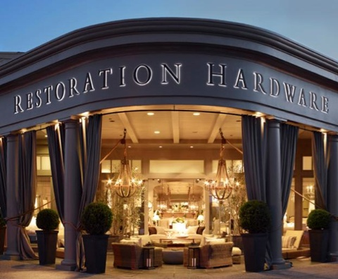 Restoration Hardware New York City Store