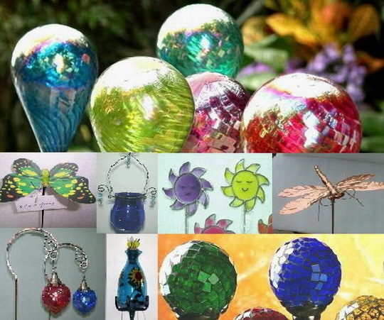 Glass Ornament Garden Stakes And Markers  made-in-china.com