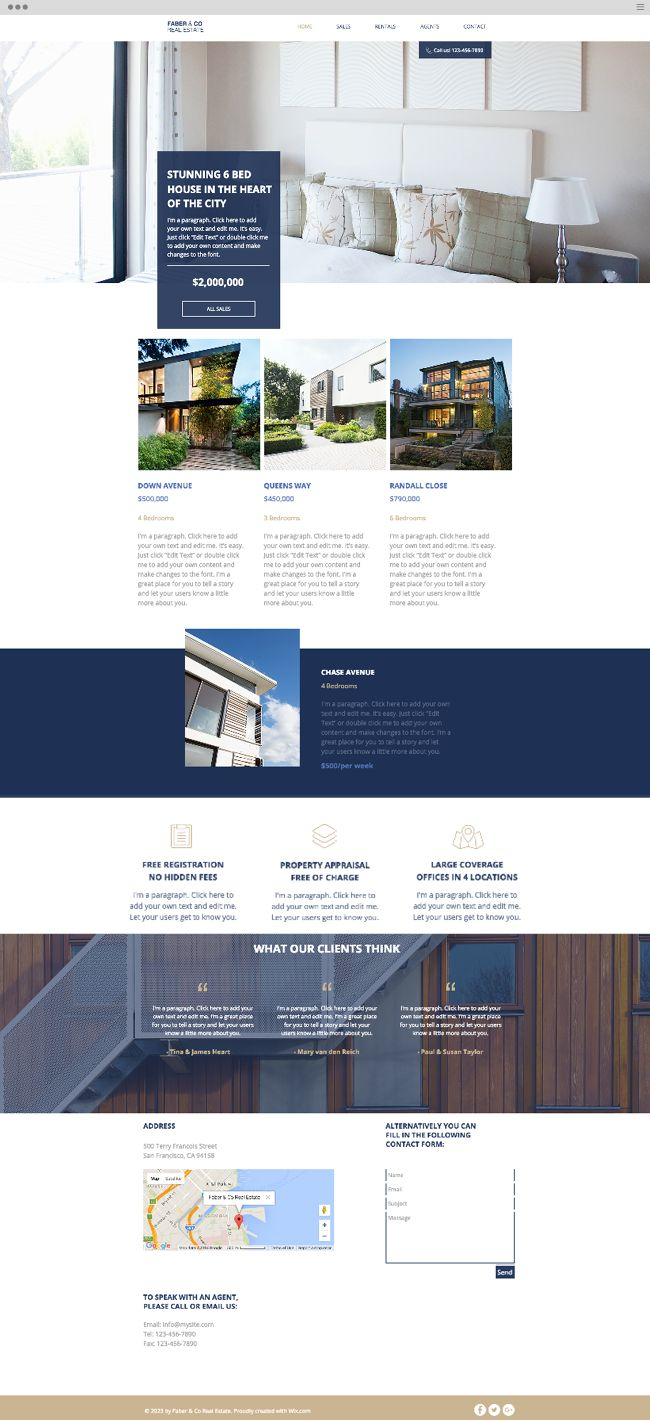 Best 25 real estate website templates ideas on pinterest real real estate company website template pronofoot35fo Image collections