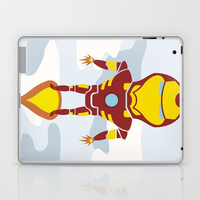 Tony's Flight Laptop & iPad Skin