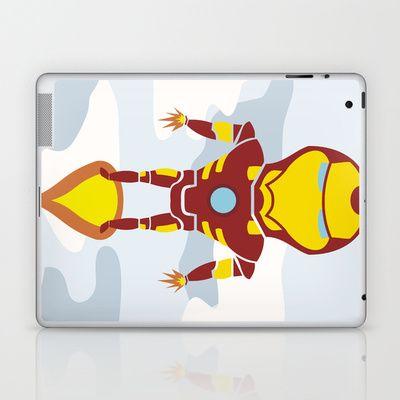 Tony's Flight Laptop & iPad Skin