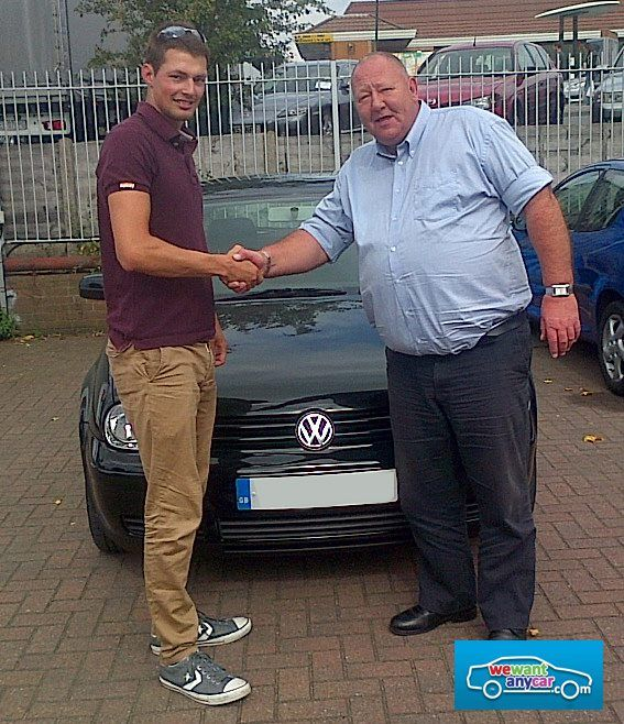 A Happy Customer at our Cannock branch! Want to meet our team? Get your appointment today! http://bit.ly/10fbt2h