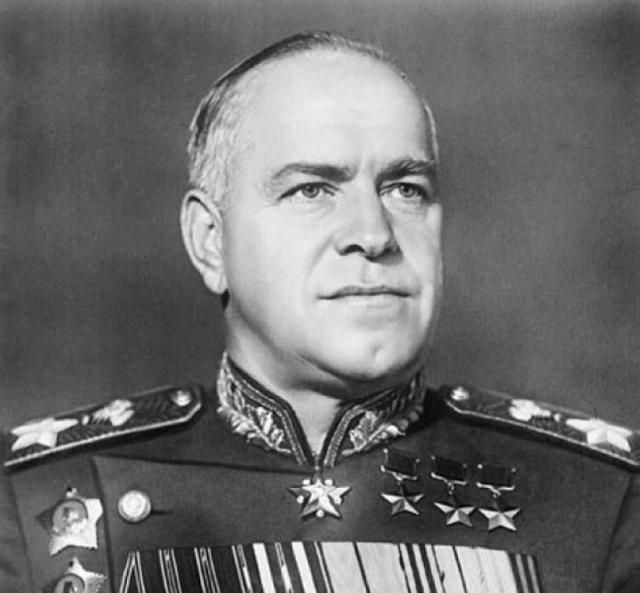 WWI & WWII Military Historian. — peashooter85:   White Coke for Marshal Zhukov, At...