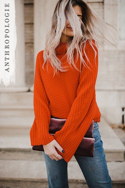 Tisbury Turtleneck Pullover | Anthropologie sweaters