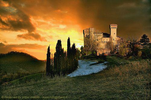 Castello di Vignola ( modena italy )
