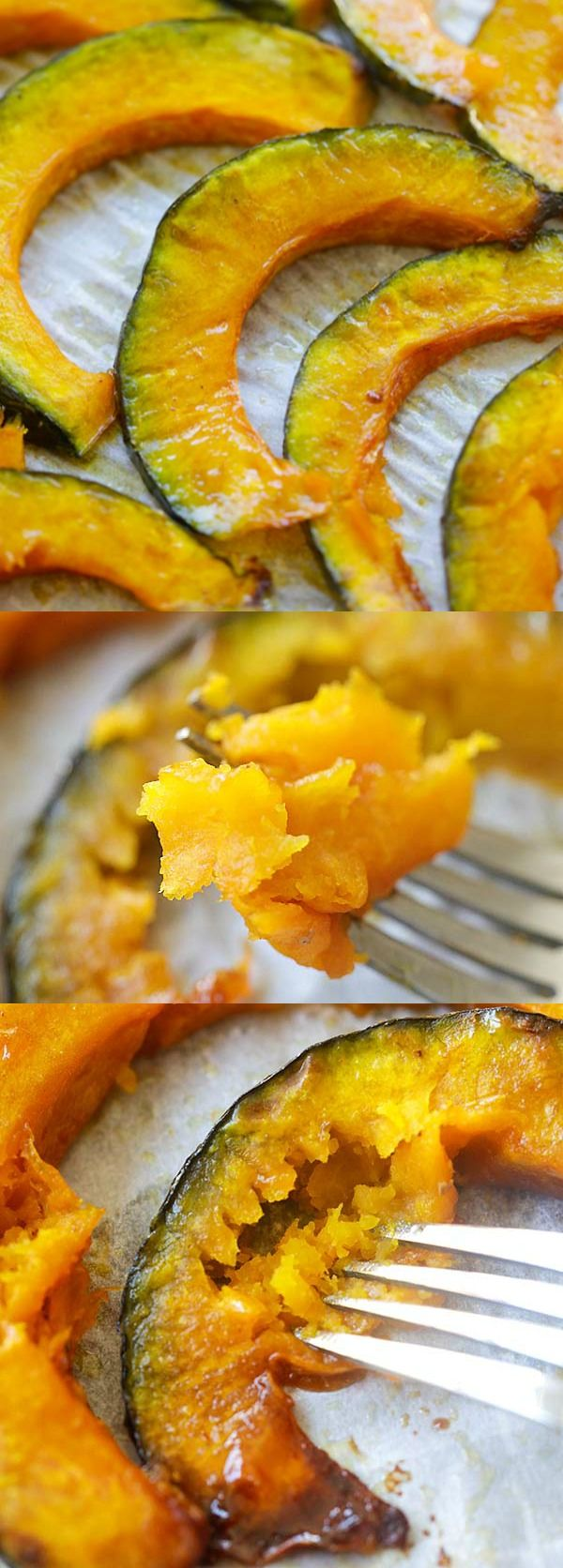 Honey Butter Roasted Pumpkin