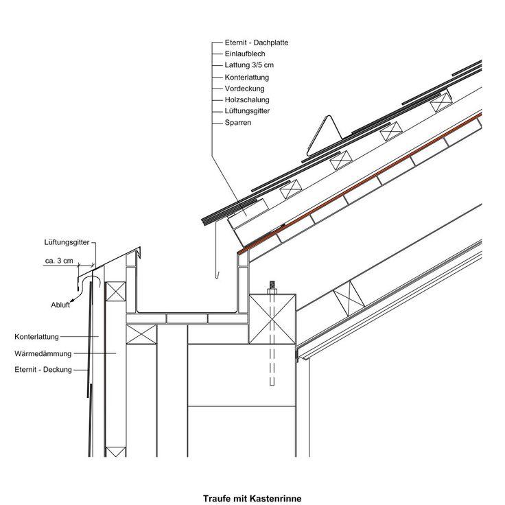 Holzbau detail wand  107 besten A.Detail Bilder auf Pinterest | Architektur, technische ...