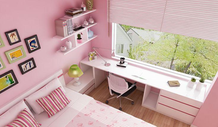 Girl bedroom - view 2 P/s: Chi Chau - Bien Hoa