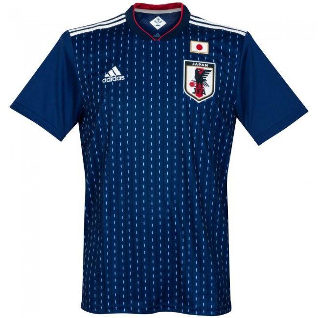Camiseta de Japón 2018-2019 Local #shirt #football #fútbol #japan