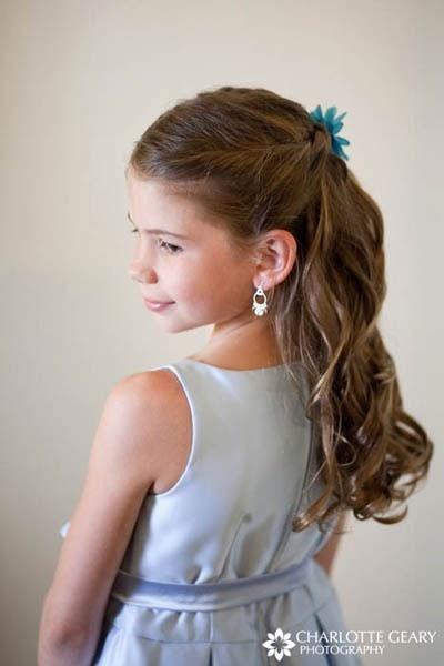 flower girl hair ideas. amy casey