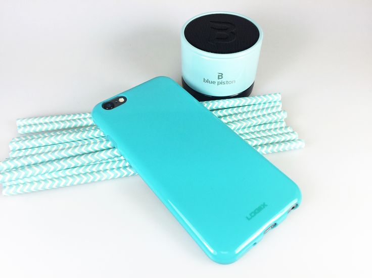 Spring time! Turquoise and Mint #Logiix #GellyShell #BluePiston #Speaker #LogiixLifestyle #Mint #iPhone #Case