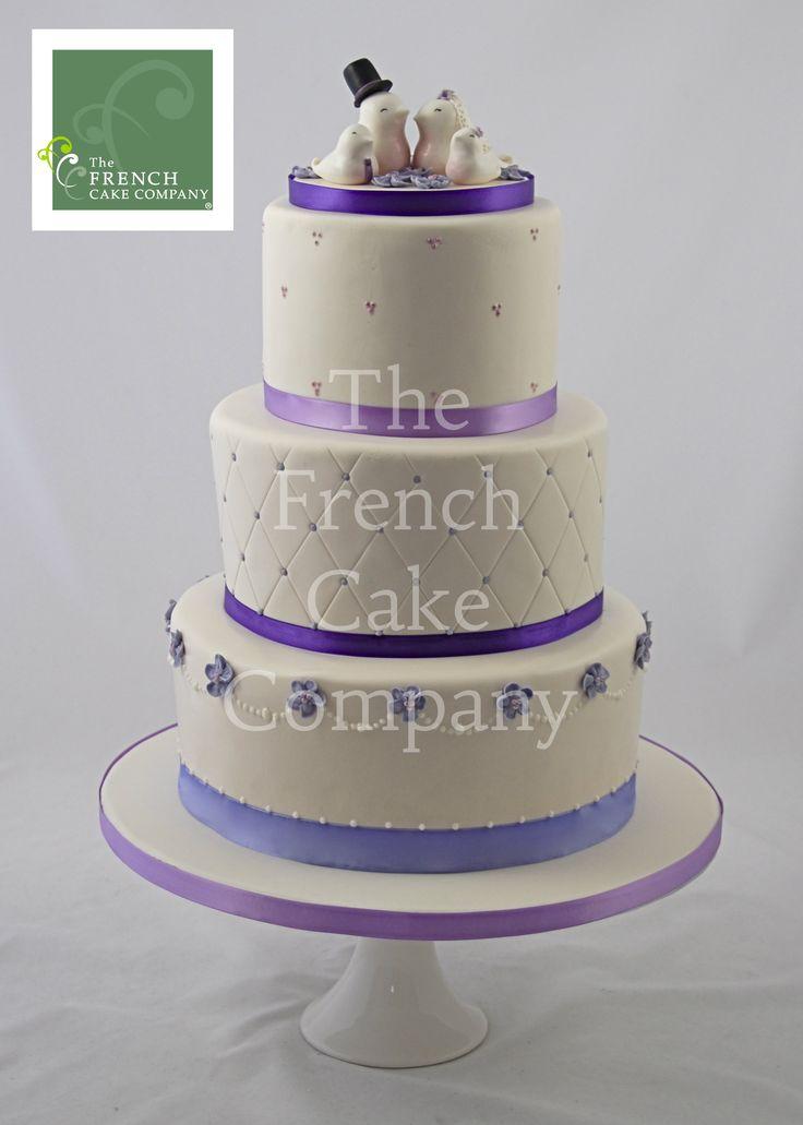 wedding cake mauve piece montee mariage mauve. Black Bedroom Furniture Sets. Home Design Ideas