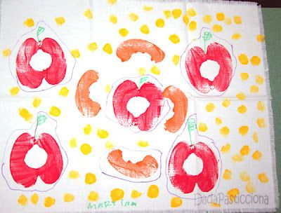 stampa di frutta