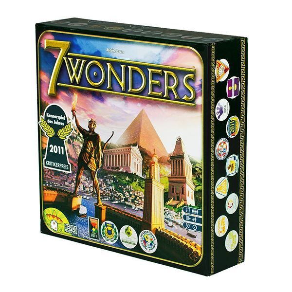 Show details for 7 Wonders Board Game