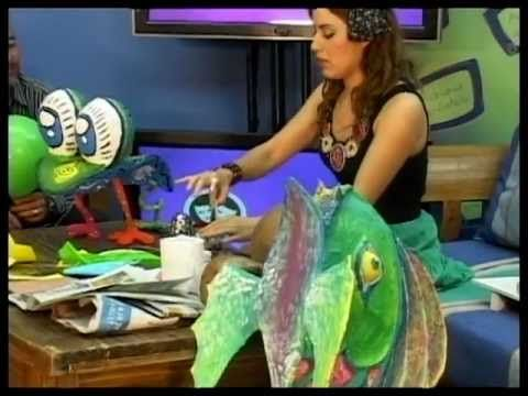 Mundo TV: Alebrijes, Historia y como hacer uno. Show first two minutes and have kids find main idea and words they recognize.