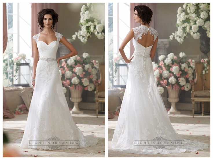 Cap Sleeves Slim A-line Sweetheart Lace Appliques Wedding Dresses http://www.ckdress.com/cap-sleeves-slim-aline-sweetheart-lace-  appliques-wedding-dresses-p-438.html  #wedding #dresses #dress #lightindream #lightindreaming #wed #clothing   #gown #weddingdresses #dressesonline #dressonline #bride
