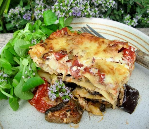 Vege lasagne with flair