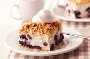 Blueberry Buckle Cake Recipe - Kraft Recipes