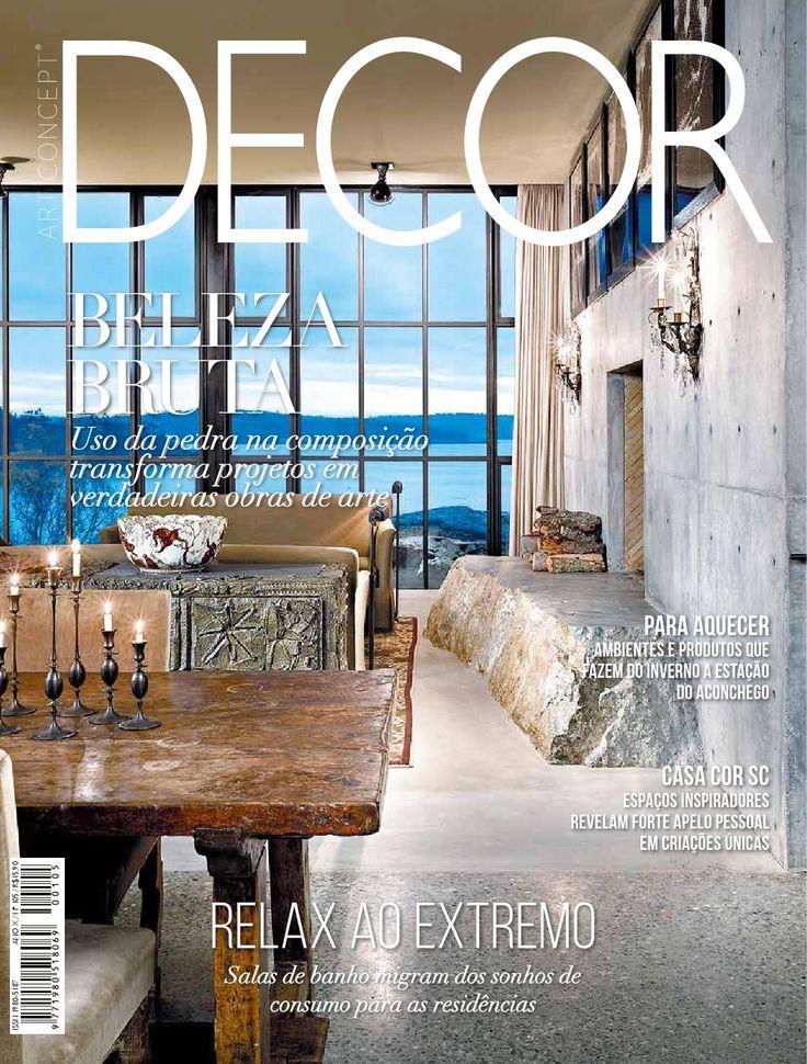 Art Concept Decor July 2015 Brazil Cover
