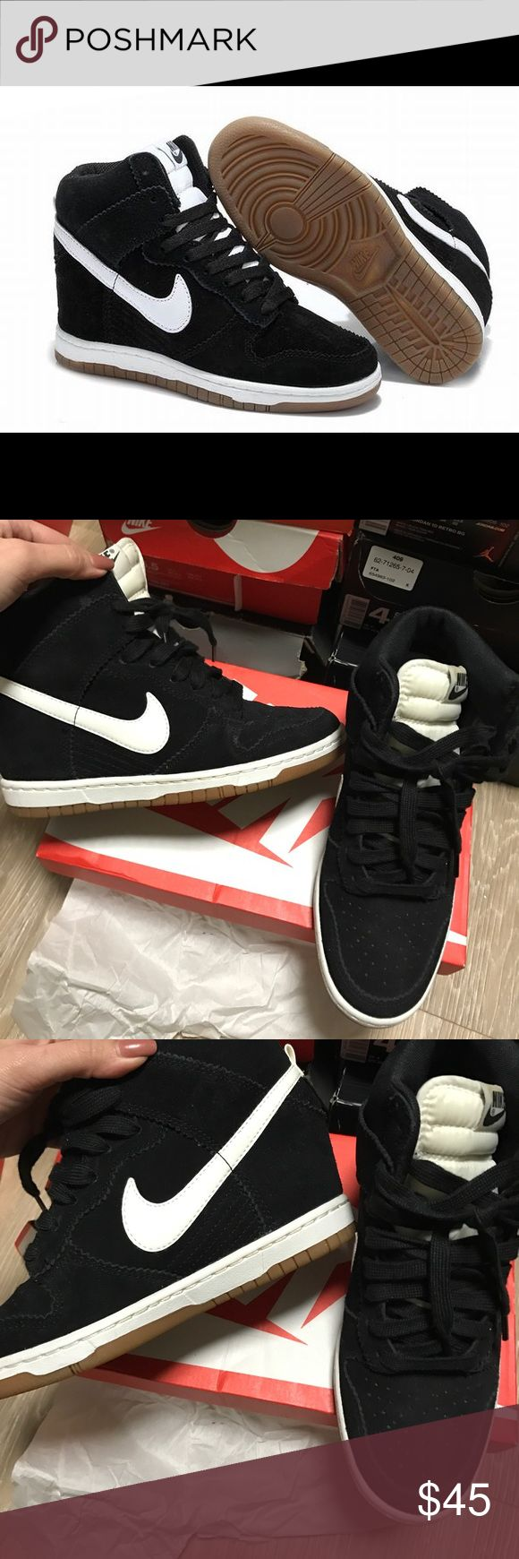 Nike sky hi gum soles 6.5 perfect condition Nike Shoes Sneakers