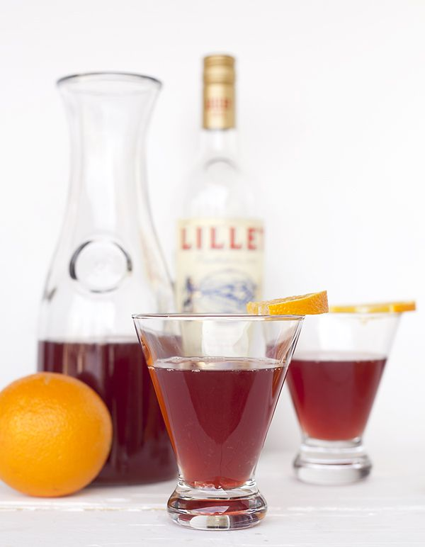 Watch the Super Bowl in style with this Sparkling Lillet Rouge Punch. It's light, refreshing and easy to make. Now that's what we call a winning touchdown!