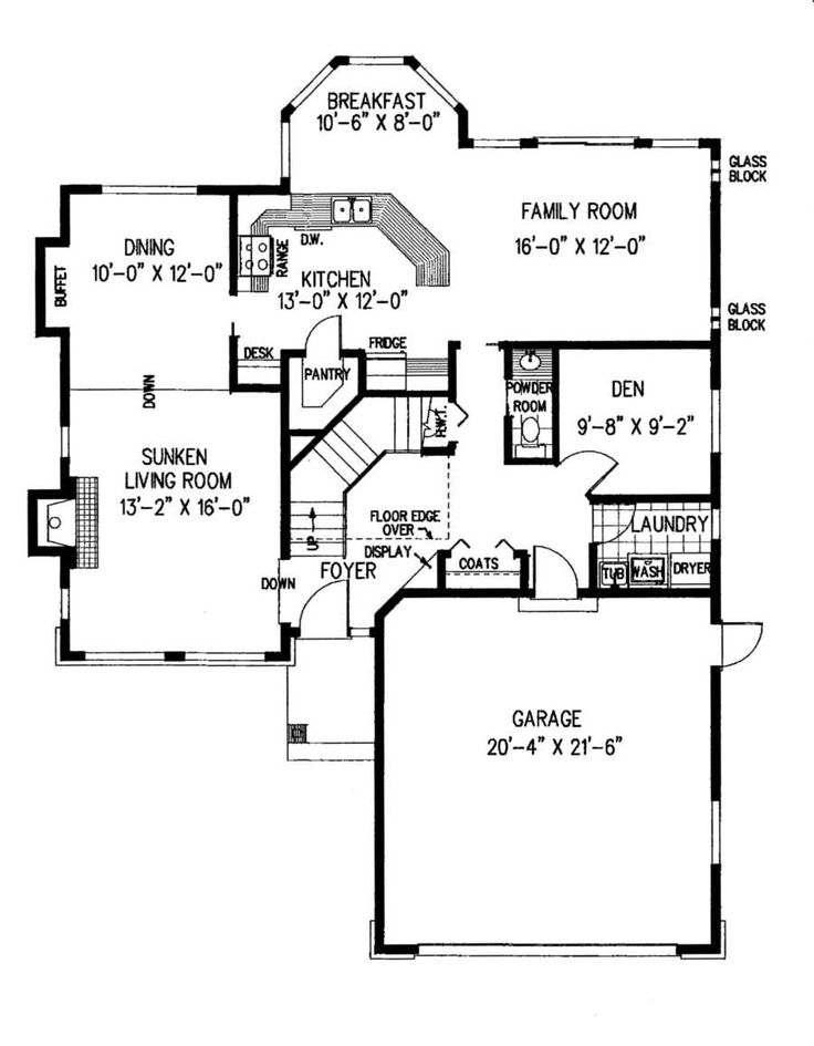 Best Cool House Plans Images On   Cottage Floor Plans