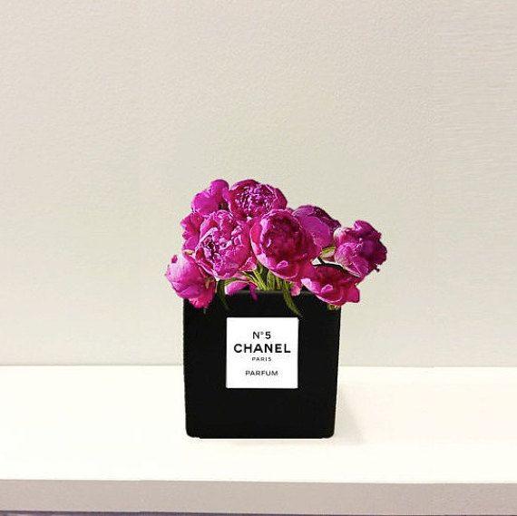Bottiglia di profumo ispirato ceramica nera 4 di RueDesRosiersNYC