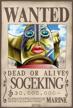 One Piece Wanted Sogeking