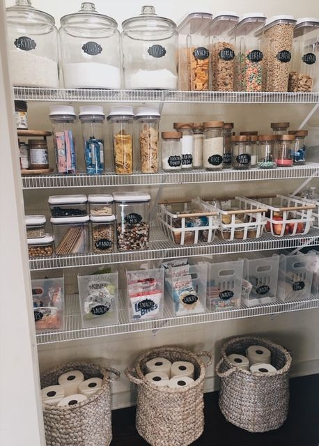 How To Create The Perfectly Organized Pantry - #CREATE #kitchen #Organized #Pantry #perfectly