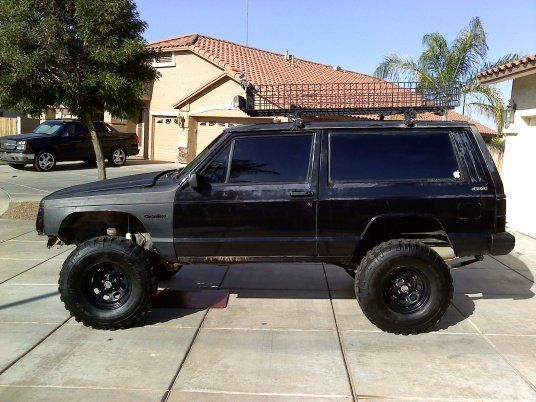 XJ roof Basket - Jeep Cherokee Forum