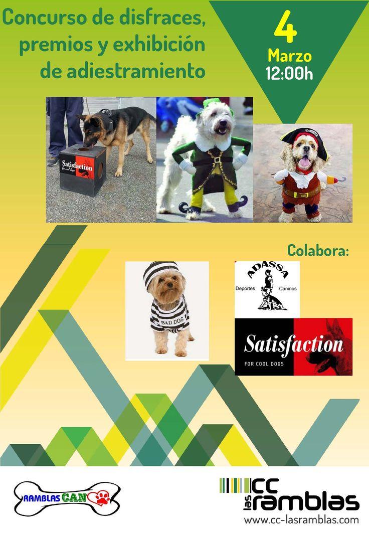 """Sábado 4 a las 12:00 h. """"Exposición canina de Carnaval"""""""