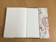 Kostenlose Nähanleitung Wende-Buch- und Heftumschläge beliebiger Größe