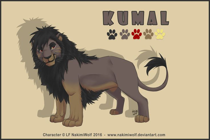 Kumal Lion by NakimiWolf.deviantart.com on @DeviantArt