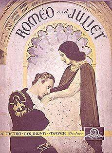 Ромео - Лесли Хауард,  Джульетта - Норма Ширер,  фильм Дж. Кьюкора, 1936