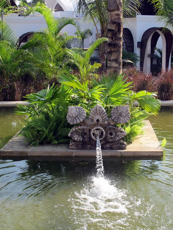 Made Wijaya   Taj Bekal, India. Garden FeaturesWater ...