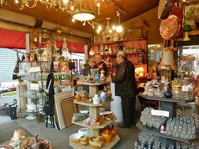 Marie Z Johnston: Marché de Clignancourt - A day at the flea market