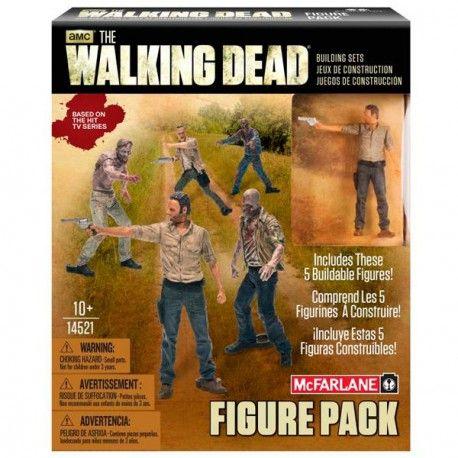 Set de construcción #TheWalkingDead con cinco figuras y treinta piezas. Hazte con este producto de merchandising oficial por tan solo 17,48€.