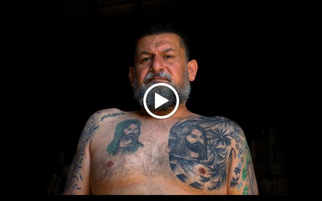 Shias in Lebanon show off their tattoos.