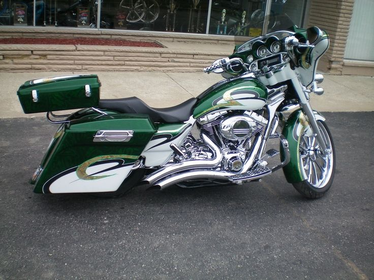 Custom Harley Davidson Baggers | HARLEY BAGGER STRETCHED SADDLEBAGS
