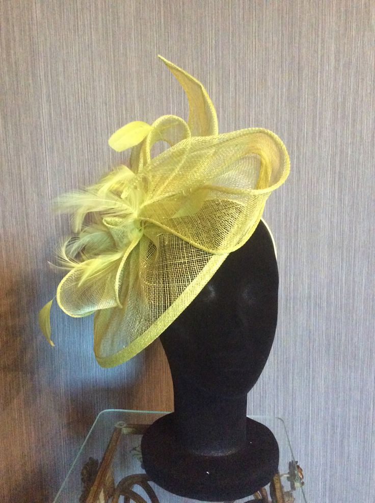 Yellow Fascinator Collection
