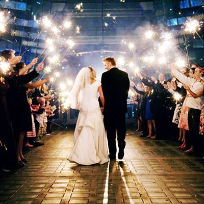Grand Wedding Exit Specializes In 36 Inch And 20 Sparklers For Weddings Specifically Designed