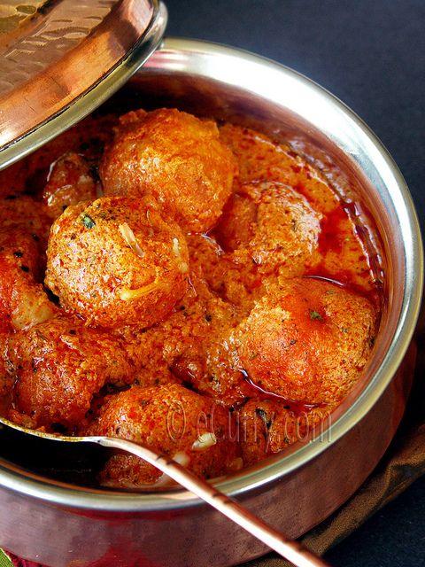 Malai Kofta / Cheese Dumplings Simmered in a Creamy Sauce