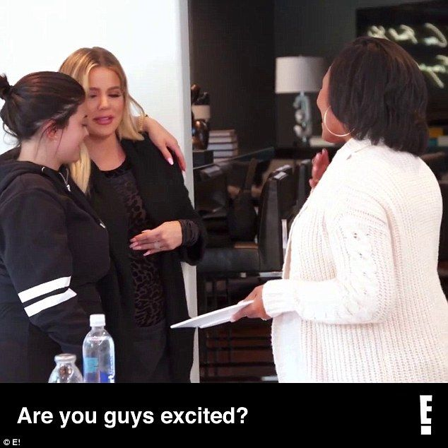 Twinning: In a preview for the upcoming Keeping With The Kardashians, we see that at least one member of the public knew that both Khloe Kardashian, 33, and half-sister Kylie Jenner, 20, were pregnant at the same time