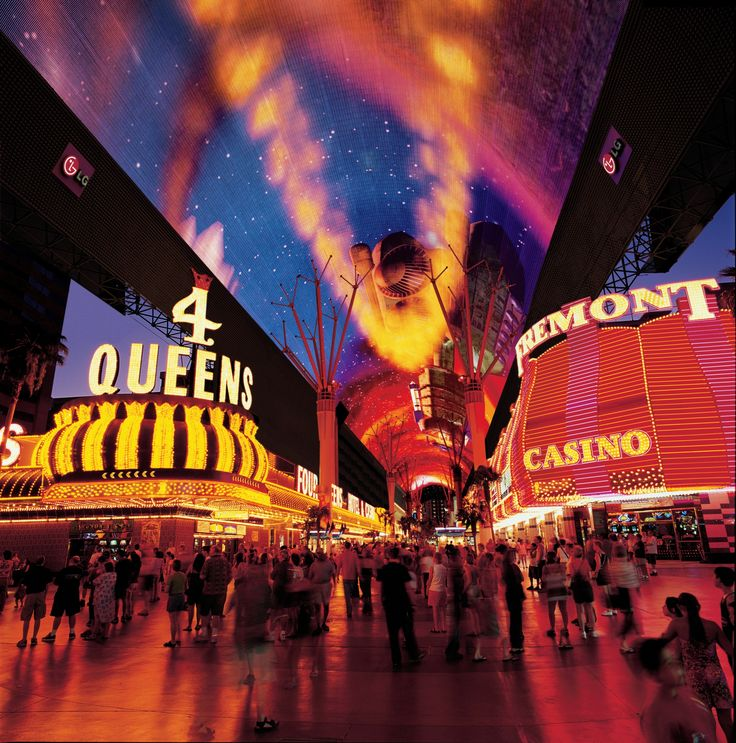 The *original* Las #Vegas Strip - Fremont Street in downtown Las Vegas